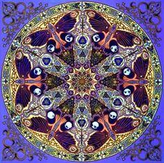 Mandala art by Stephen E. Meakin. www.stephenmeakin.com