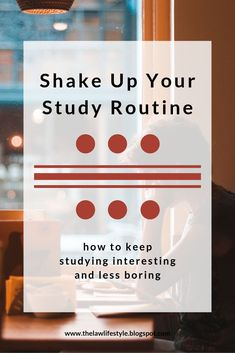 Do you need something to keep yourself interested in your studying? College Classes, College Hacks, Study Help, Study Tips, Study Schedule, College Organization, Life Hacks For School, Study Habits, Study Skills