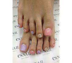 Spring Toe Nail IDEA!!! @Luuux