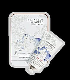 Library of Flowers- Forget Me Not (Handcreme)