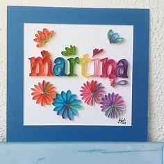 this is your beautiful Name Quilling Letters, Paper Quilling Patterns, Letter N Words, Animal Antics, Thank You Gifts, Paper Art, Scrap, Ideas Creativas, Lettering