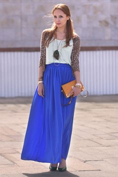 blu mango skirt striped long sleev top | FASHION | Pinterest ...