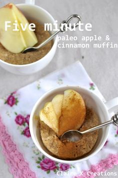 Looking for Fast & Easy Breakfast Recipes, Snack Recipes! Recipechart has over free recipes for you to browse. Find more recipes like Paleo Apple Cinnamon Muffins. Morning Glory Muffins, Apple Cinnamon Muffins, Cinnamon Apples, Muffin Recipes, Snack Recipes, Snacks, Paleo Recipes, Microwave Recipes, Paleo Dessert