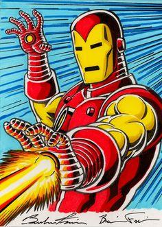 Iron Man by Brendon Fraim