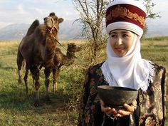 Kırgız Türk Kadını