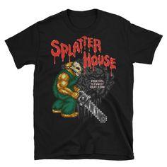 """""""Splatterhouse - Rick"""" T-Shirt - Schmirt"""