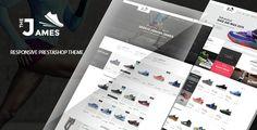 James - Responsive Prestashop Shoes Store Theme