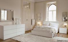 Sade ve şık yatak odaları