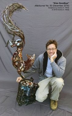 In most cases, clicking on an image will take you to a page with more images. To see the pieces I currently have for. Metal Projects, Welding Projects, Garden Art, Garden Ideas, Scrap Metal Art, Junk Art, Welding Art, Artificial, Art Sculptures