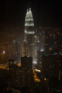 twin tower de kuala lumpur (tour petronas) Malaisia