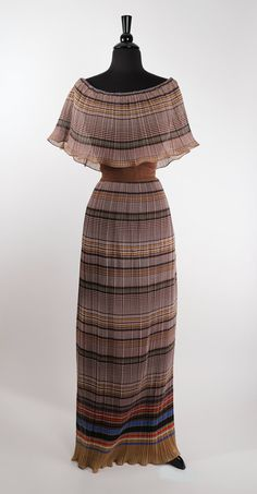 Vintage 1960's Fortuny Pleated Bohemian Dress / by TheHoneyWitch