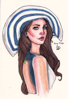 Lana Del Rey #LDR #art by Jesus Diego