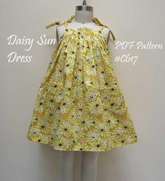 Looking for your next project? You're going to love Daisy Sun Dress Pattern by designer FelicityPattern.