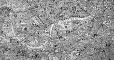 Stephen Walter's incredible map of London/Aaronovitch book covers