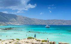 Elafonisi beach, Crete, Greece