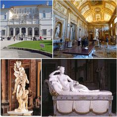 La Galería Borghese (en italiano: Galleria Borghese), es un museo de arte situado en los jardines de Villa Borghese, Roma. Dentro de la renombrada riqueza artística de la ciudad, es una de las pinacotecas esenciales, de visita obligada