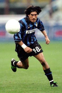 Iván Zamorano, Inter de Milão e Chile.