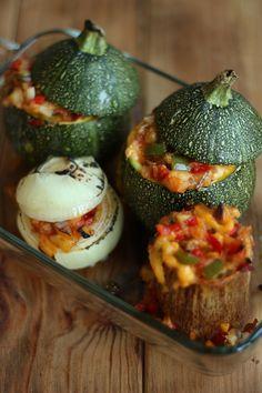El blog de Ana H: Verduras rellenas. Recetas rápidas y fáciles.