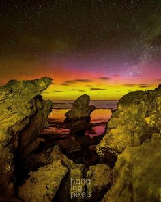 "The Crags Aurora  : Canon 5D MKIII : Canon 16-35mm ƒ/2.8 : 30"" ISO6400 ƒ/2.8 : VIC AU  #amazing_australia #australia #australiagram #bestofaustralia #canonaustralia #exploreaustralia #ig_australia #iloveaustralia #seeaustralia  #worldbestshot #wow_australia #ig_exquisite #jaw_dropping_shots #big_shotz #ausfeels #australia_oz #visitvictoria #ilovevictoria #ilovevictoria #portfairy #portfairypics #greatoceanroad #VisitGreatOceanRoad #warrnambool #destinationwarrnambool #thecrags #startrail…"
