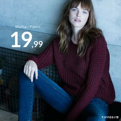 fc42aeffce1c9a All the cosiness you need on a monday #tiffosi #tiffosidenim #woman #winter