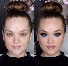 Photos That Prove How Much Makeup Can Completely Transform People | Diply