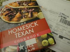 The new cookbook Homesick Texan by food blogger Lisa Fain is amazing! So many great tex-mex recipes to try. Here's a couple of her recipes as a sneak peek!