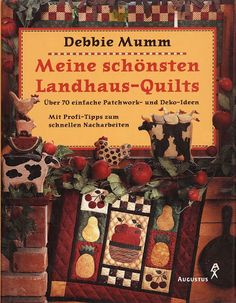 Book - best Country Quilts for Kitchen and Christmas Sewing Magazines, Country Quilts, Applique Fabric, Pattern Books, Book Crafts, Good Books, Free Books, Quilt Blocks, Fabric Crafts