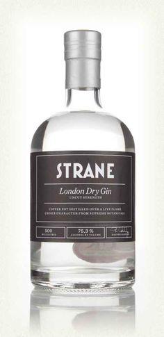 Strane London Dry Gin - Uncut Strength