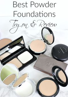 Best Powder Foundations | Try on and Review
