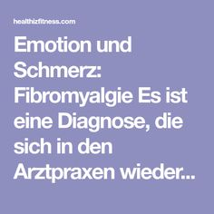 Emotion und Schmerz: Fibromyalgie Es ist eine Diagnose, die sich in den Arztpraxen wiederholt und hauptsächlich Frauen betrifft. Wir sagen Ihnen, was es ist und was getan werden kann. Der Zusammenhang zwischen Depression und Schmerz ist seit einiger Zeit bekannt. Statistiken schätzen ,dass 20 bis 30% der Patienten mit Depression Episoden von Schmerzen haben, und…