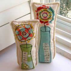 These are cute!!! Could be shelf decor, pillows, rice packs...
