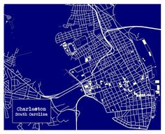 Charleston map print full color map poster charleston map charleston map print full color map poster charleston map apartment living and apartments malvernweather Images