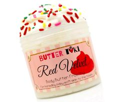 Red Velvet Cake Body Butter Frosting 4oz