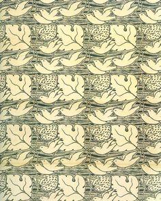 patternprints journal: STYLIZED PATTERNS IN VOYSEY'S GRAPHIC WORKS