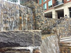 Natural Stone Waterfall Hoopers Creek