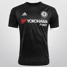 Garanta a oferta incrível da Camisa Adidas Chelsea Third 15/16 s/nº + Camisa Polo Joma! É a pedida certa para quem quer torcer pelos Blues e ainda garantir um visual despojado para o dia a dia. | Netshoes