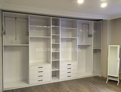 Comfortable and Suitable Wardrobe Design for Big & Small Bedroom Closet Interior, Wardrobe Interior Design, Walk In Closet Design, Wardrobe Design Bedroom, Master Bedroom Closet, Wardrobe Closet, Closet Designs, Home Bedroom, Bedroom Decor