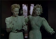 "Constance Cummings and Kay Hammond in ""Blithe Spirit. David Lean Films, Haunted Movie, Hammond In, Theatre Plays, Film Aesthetic, Classic Films, Film Stills, Film Director, Film Movie"