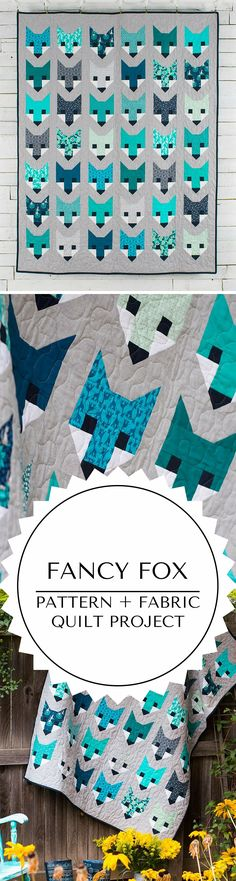 Fancy Fox quilt kit quilting project                                                                                                                                                      More                                                                                                                                                                                 Mehr