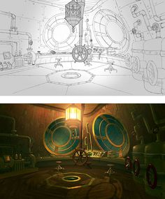 """A selection of pre-production concepts for a animation series: """"Pet Pals"""". realized by Marco Pegoraro Game Background, Animation Background, 3d Animation, Animation Series, Environment Concept, Environment Design, Pre Production, Comic Styles, Environmental Art"""