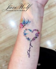 Awesome tiny tattoos ideas are readily available on our internet site. Take a look and you wont be sorry you did. Family Tattoos, Mom Tattoos, Body Art Tattoos, Small Tattoos, Tattoos For Women, Tatoos, Heart Wrist Tattoos, Mother Tattoos, Tattoos Skull
