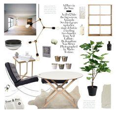 """Sunny Sunday"" by mirelakljajic ❤ liked on Polyvore featuring interior, interiors, interior design, дом, home decor, interior decorating, CB2, .wireworks, MASH Studios и Menu"