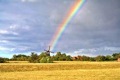 Regenbogen über Fehmarn von uju