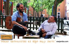 esejambo entrevistando a Rubén Malandro.