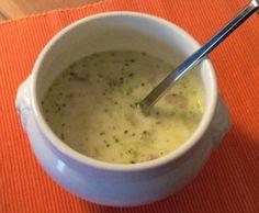 Rezept Geflügel-Lauch-Suppe mit Schmelzkäse von Weckauff - Rezept der Kategorie Suppen