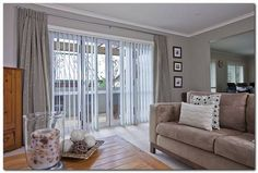 Vertical Blinds with Drapes | Vertical Blinds