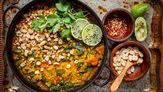 Naan, Paella, Tofu, Hummus, Healthy Life, Food And Drink, Vegetarian, Vegetables, Ethnic Recipes
