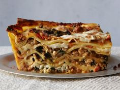 Spinach Lasagna with Veal and Egg-enriched Tomato Sauce Recipe | SAVEUR