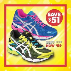 Asics MENS & WOMENS GEL-FLUX 2's were: $150. now: $99! Only at Sportspower Warrnambool's UP TO 51% OFF EVERYTHING SALE!  #sportspowerwarrnambool #sportspower #massivesale #upto51percent #sale #sports #sportswear #51percent #warrnambool #shop3280 #asics #newshoes #adidas #newbalance #nike #runningbare #lornajane #saucony #brooks #skechers #converse #everlast #bodyworx #garmin #gilbert #graynicolls #madison #skins #2xu by sportspower_warrnambool