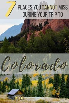 From the serene mountains, epic winding roads, and foodie destinations these places to visit on a Colorado road trip are perfect for your next adventure! Estes Park Colorado, Aspen Colorado, Boulder Colorado, Road Trip To Colorado, Visit Colorado, Us Road Trip, Colorado Mountains, Colorado In The Summer, Rocky Mountains